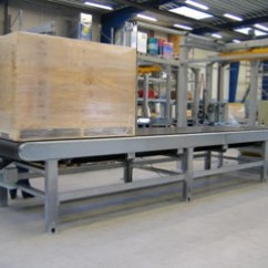 Galvanized belt conveyor