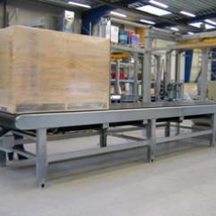 Galvanized belt conveyor
