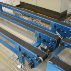 Leight weight belt conveyor