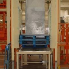 Pallet dispenser for Chep pallet 240